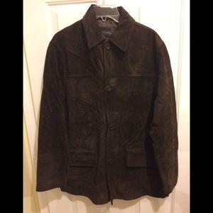 Men's suede jacket.